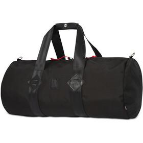 Topo Designs Classic Duffel, ballistic black/black leather
